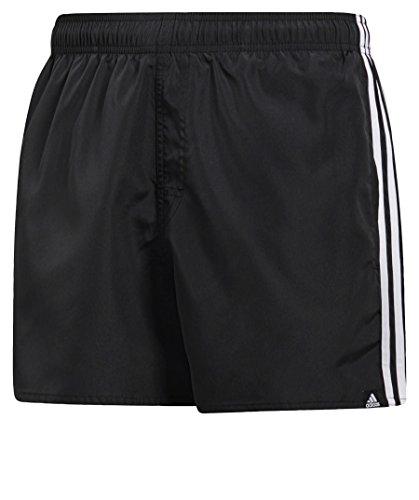 Adidas cv5137, pantaloncini da bagno uomo, nero/bianco, s