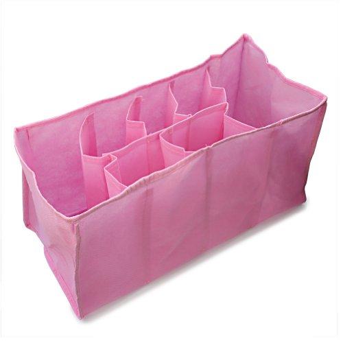 Pinzhi Wickeltasche Windeltasche Windel Organizer Pflegetasche Tasche (Rosa)