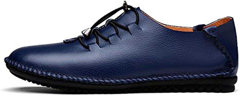LEDLFIE Schuhes Leder LEDLFIE Casual Schuhes LEDLFIE Leder Comfortable Men's Driving ... d075a3
