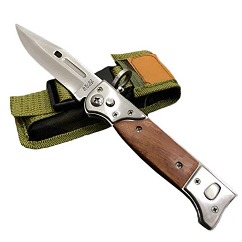 AimdonR Küche Pocket Folding Knife Stainless Steel Blade Küche Tool -