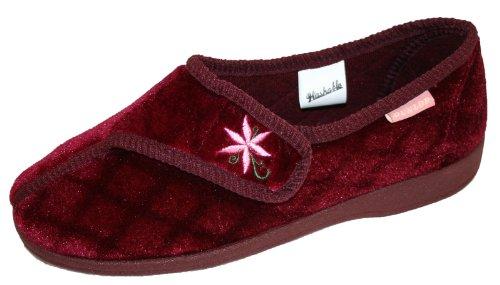 Dunlop, Pantofole donna Rosso (Burgundy Wine)