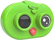Andoer Kids Digital Camera Children Creative Camera 12MP 1080P Full HD Mini Video Camcorder 2.0 Inch IPS HD Sc