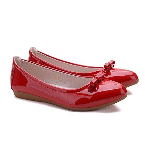 FLYRCX In stile europeo in modo semplice ma confortevole e tempo libero home donna in pelle archetto piatto scarpe scarpe b