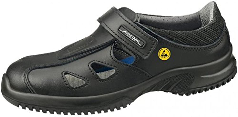 Abeba 36796-48 Uni6 calzado sandale ESD, talla 48, color negro