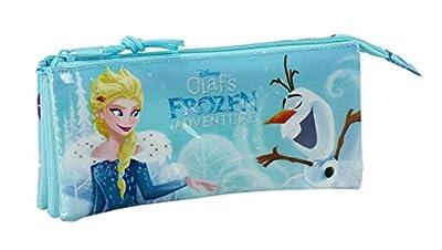 Disney SAFTA Estuche Escolar Frozen Oficial 220x30x100mm por Frozen