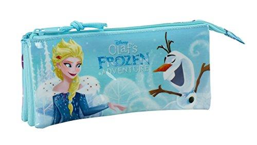 Safta Estuche Escolar Frozen Oficial 220x30x100mm