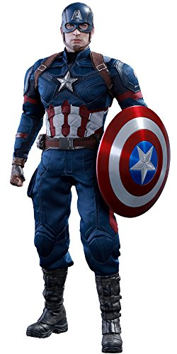 Hot Toys Captain America | Civil War | Deluxe-Figur (voll beweglich) ()