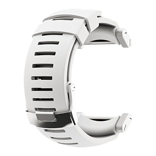 Suunto Core Rubber Watch Strap - Pure White - One Size