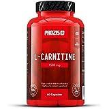 Prozis 100% Pure L-Carnitine en gélules 1500mg - Complément d'acides aminés de haute qualité pour la perte de poids, le mental et plus d'énergie - 60 gélules !