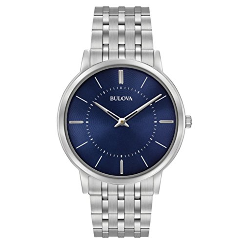 bulova-mens-designer-watch-stainless-steel-bracelet-blue-dial-ultra-slim-wrist-watch-96a188