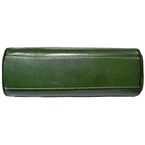 BORSA IN PELLE DA DONNA(6544) Verde