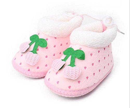 Da.Wa Chaussures bébé Chaud épais Fond Mou Chaussures Enfant Printemps et d'hiver Chaussures Bébé Unisexe Super Chaud Chaussures Mignonnes