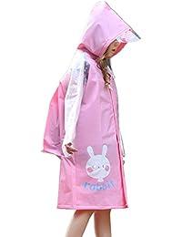 Wondder Niños Impermeable EVA Cartoon Niños a Prueba de Agua Niños Niñas Estudiante Rain Coat Poncho