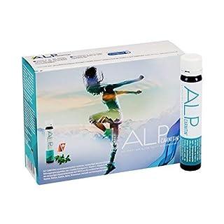 ALP CARNITIN Trinkampullen 14x25 ml L-Carnitin liquid Sportnahrung mit L Carnitin und Vitaminen für Diät Fitness Ausdauer