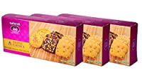 Karachi Bakery Triple Delight, Triple Choice, Pista Almond, Choconuts and Fruit Biscuits, 600g (Pack of 3)