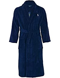 Polo Ralph Lauren Homme Shawl Collar Robe, Bleu