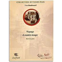 Voyage à Contretemps - Yves Baudouard partitions pour Percussion et piano