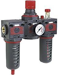 Equipo modular Fiac 920/13 de piã ¹ filtro regulador de presión de aire comprimido