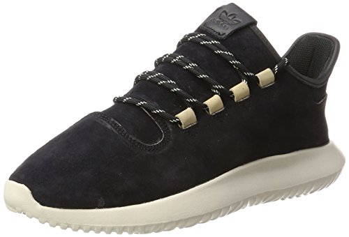 adidas Herren Tubular Shadow Gymnastikschuhe, Schwarz (Core Black/Core Black/Clear Brown), 45 1/3 EU (Wildleder Adidas Turnschuhe)