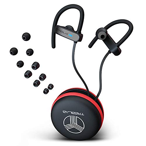 TREBLAB XR800 Bluetooth Kopfhörer, Beste Kabellose In-Ohr Kopfhörer Für Sport. 2018 Bestes Modell. IPX7 Wasserbeständig, Schweißbeständig. Geräuschunterdrückende Ohrhörer mit Mikro