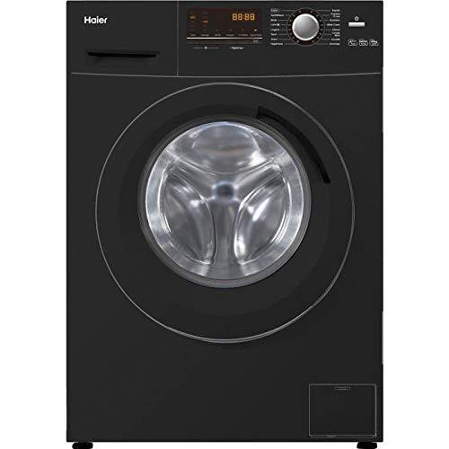 Haier w836b - Lave Linge Frontal - 8 kg - 1400 Tours - a +++ - Noir
