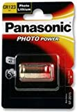 BATTERY, PHOTO LITHIUM CR123A 3V CR123A By PANASONIC ELECTRONIC COMPONENTS