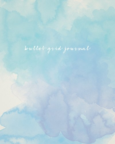 bullet-grid-journal-watercolor-150-dot-grid-pages-8x10-professionally-designed