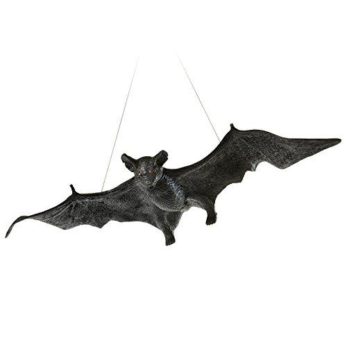 CTC Riesige Schwere Latex Horror Fledermaus Zum Aufhängen 0,58 Meter Halloween Deko Hammer