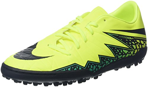 Nike Herren Hypervenom Phelon II TF 749899 703 Fußballschuhe, Gelb (Volt/Black-Hyper Turq-Clear Jade), 45 EU - Turf Männer Nike Schuhe Für