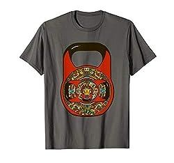 Maya Azteken Kettlebell by Kettlebell Junkie Girevoy Sport T-Shirt