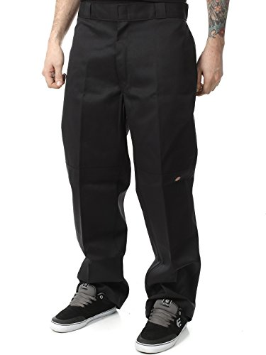 pantaloni-dickies-double-knee-work-nero-30-vita-x-32-eu-44-nero