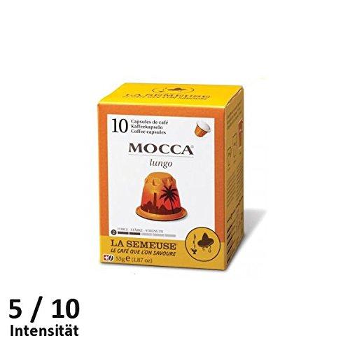 La Semeuse Mocca Lungo Kaffeekapseln 10 Stück - voll kompatibel thumbnail