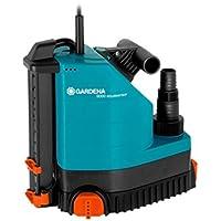 GARDENA Comfort Tauchpumpe 9000 aquasensor: Entwässerungspumpe mit Sensortechnik und 9000 l/h Fördermenge, langlebige und sichere Pumptechnik, wartungsfrei, mit Universalanschluss (1783-20)