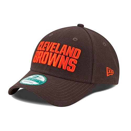 New Era Herren The League 9Forty Cleveland Browns Offical Team Colour Baseball Cap, Braun, One Size (Baseball-cap Cleveland Browns)