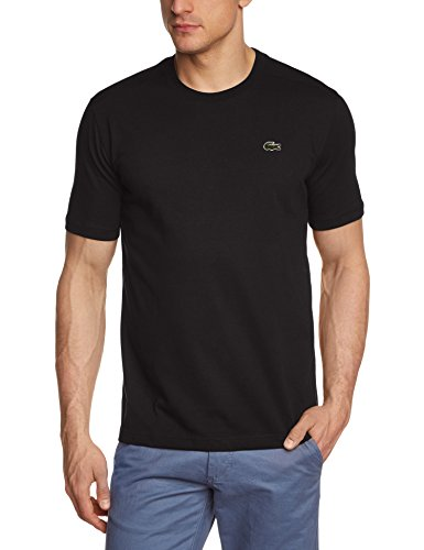 Lacoste - TH7618-00, T-shirt da uomo, nero (schwarz  (black 031)), M