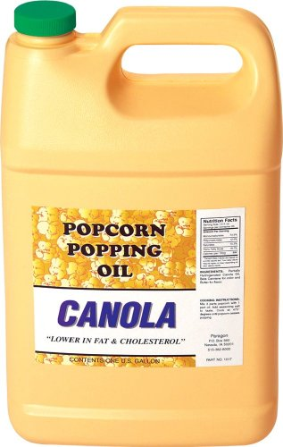 Paragon Canola Popcorn Popping Oil (Gallon)