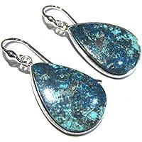 orecchini azzurrite