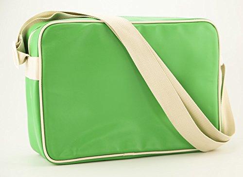 Fydelity Borsa Messenger Namesake G-Force borsa a tracolla, Stan Green (verde) - 92487 Stan Green