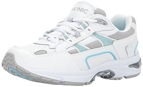 Orthaheel Walker Women's Plantar Fasciitis Shoe - White Blue - 8 Med UK Size : 6
