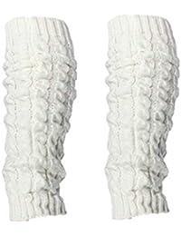 Amazon.fr   guetres blanches - Chaussettes et collants   Femme ... 2f9bccc0576