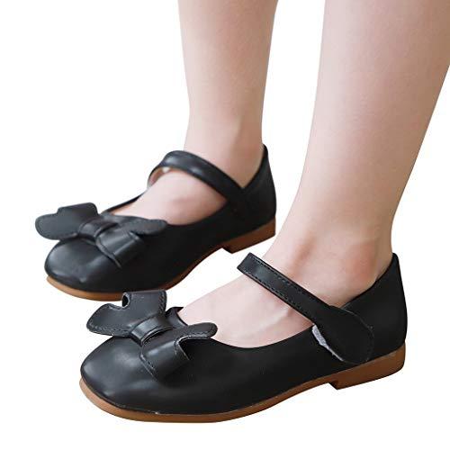 Berimaterry Zapatos Niñas Carnaval Zapato Princesa Niña Sandalias de Vestido Flat Shoes Bailarinas...