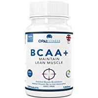 BCAA Tablets | 1200mg Branched Chain Amino Acids | BCAA+ With Added Vitamin B6 to Aid Absorption | Leucine, Isoleucine And Valine In 2 1 1 Optimum Nutrition Ratio | Amino Acids Tablets (Not Capsules) | Suitable For Men And Women | UK Produced And GMP Certified | OSHUNsport Nutrition | Limited Time Introductory Offer