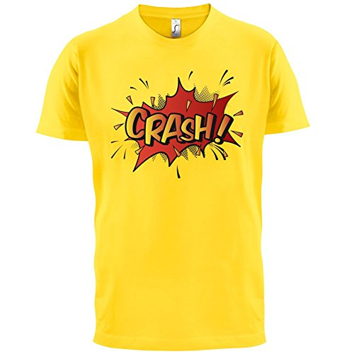 Superheld Crash - Herren T-Shirt - 13 Farben Gelb