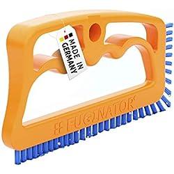 Fuginator® Brosse pour Les Joints Orange/Bleu - Nettoyage des jointures dans la Salle de Bains, Cuisine et ménage, élimine la moisissure superficiellement