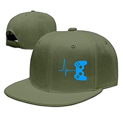 WCMBY Hat Brand New Heartbeat of A Gamer Hispte...