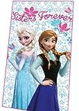 Disney Frozen Sisters Forever Fleece Decke, Blau