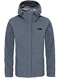 The North Face W Venture 2 Chaqueta, Mujer, Gris (Tnfmediumgryhtr), XL