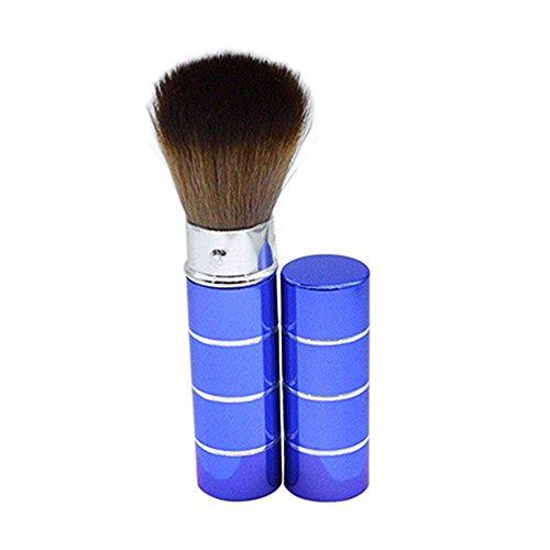 Portable Poignée rétractable Lot de brosse de maquillage cosmétique kit Pro Poudre blush Brosse