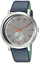 Ted Baker Men's Analog Quartz Watch with Leather Strap TE15063004