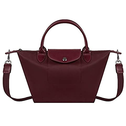BEKILOLE Women Top Handle Satchel Handbags Shoulder Bag Messenger Tote Bag Purse- Cocoa Brown Color